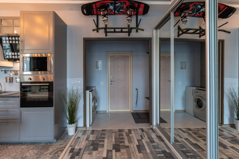 Дизайнерские апартаменты-лофт с джакузи Royal Loft View