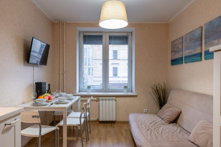 Однокомнатные апартаменты с кухней Imperial Amarone