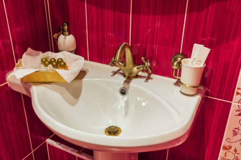 Студия категории номер с ванной на лапах