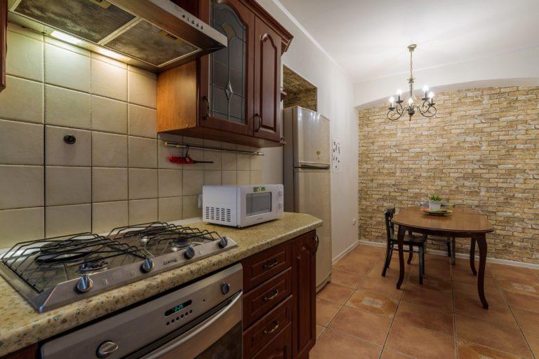 Трехкомнатные апартаменты с кухней Martini