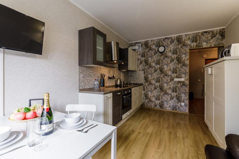 Однокомнатные апартаменты Royal Pirosmani
