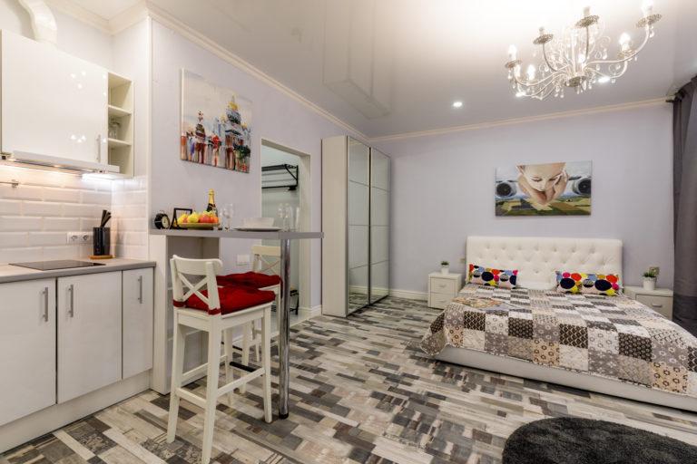 Апартаменты-студио Royal Vina Sol с джакузи