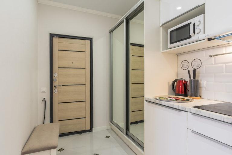 Дизайнерские апартаменты-студио с джакузи Royal View